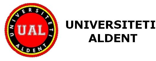 """Universiteti """"ALDENT"""""""
