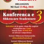 Konferenca e 3 Shkencore Studentore